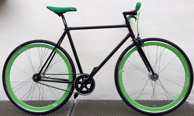 Single speed nero verde