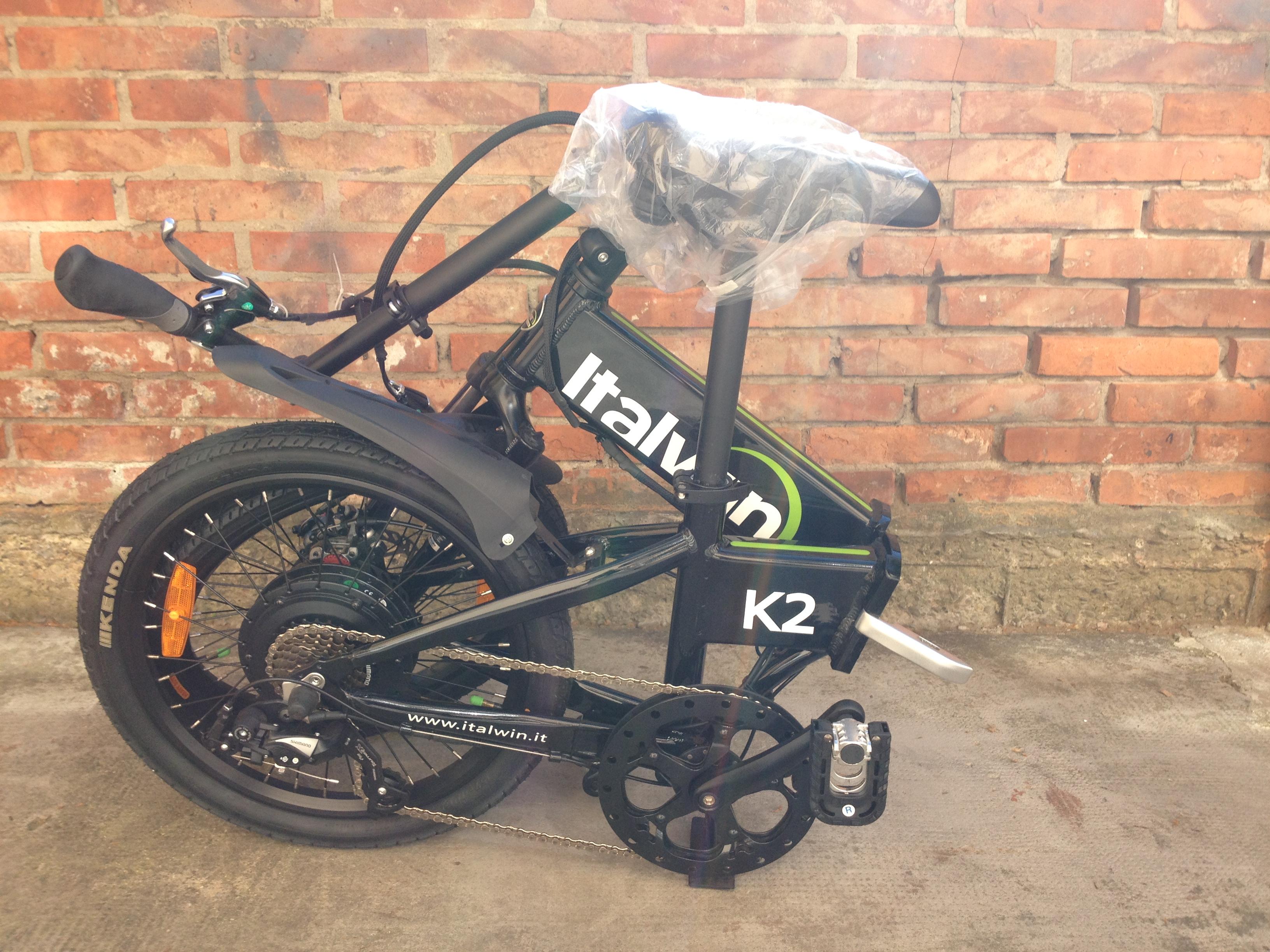 Italwin K2 Bici Elettrica Assistita Pighevole Zanetti Cicli