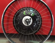 Ruota freeduck Ducati pedalata assistita