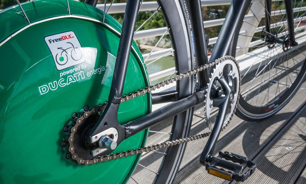 Ruota Freeduck Ducati Pedalata Assistita Zanetti Cicli