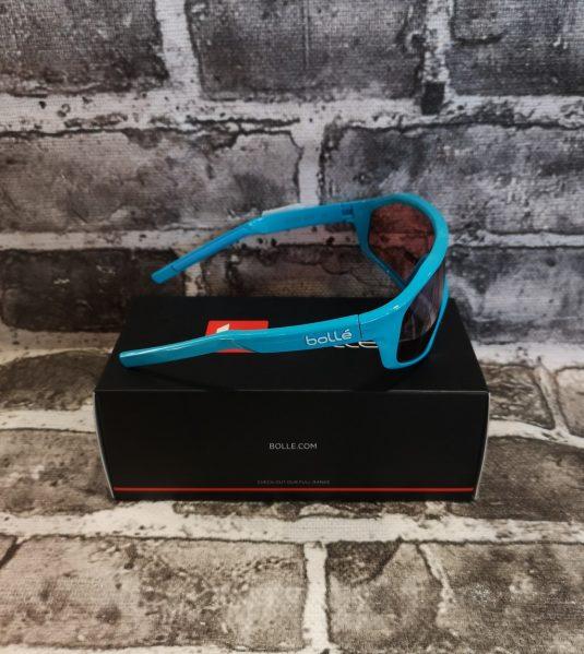occhiali bollè azzurri nuovi 2
