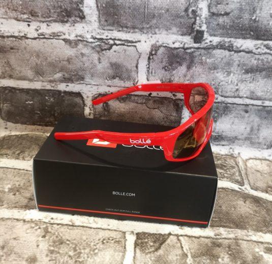 occhiali bollè rossi nuovi 1