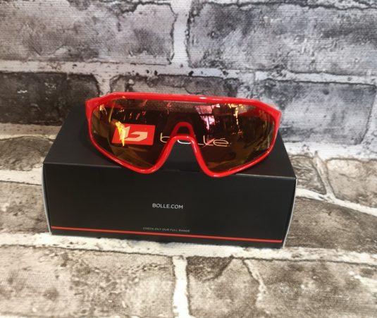 occhiali bollè rossi nuovi 2