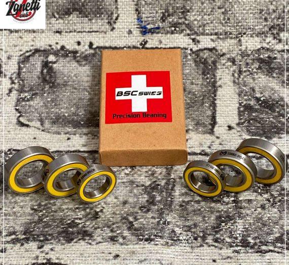 I migliori CUSCINETTI CERAMICATI ricoperti in ACCIAO INOX…BSC Swiss!