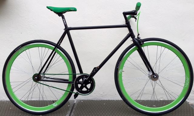 Single speed nero verde