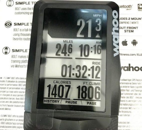 Wahoo Element GPS
